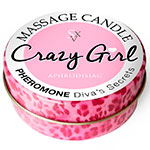 Massage Candle Crazy Girl