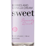 Body Splash Sweet Berries and Vainilla